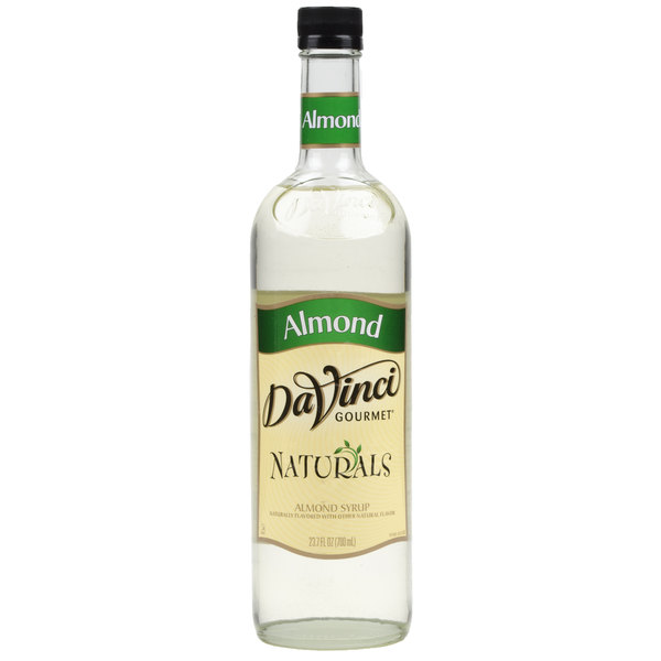 DaVinci Gourmet 700 mL Almond All Natural Coffee Flavoring Syrup