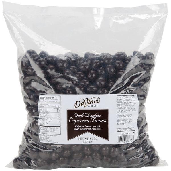 5 lb. Dark Chocolate Covered Espresso Beans