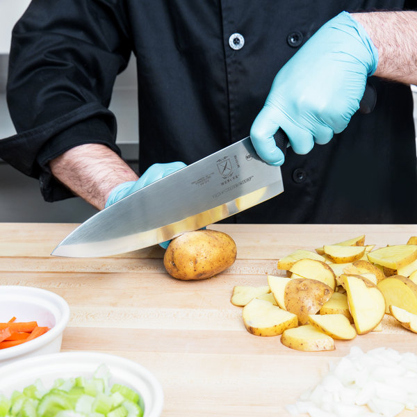 "Mercer Culinary M18010 Millennia 10"" ""The Wide Chef"" Chef Knife"