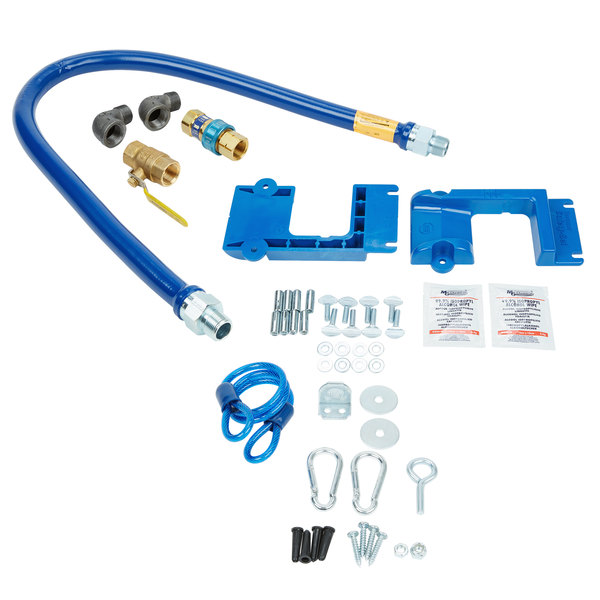 """Dormont 1675KIT48PS Deluxe SnapFast® 48"""" Gas Connector Kit with Safety-Set® - 3/4"""" Diameter"""