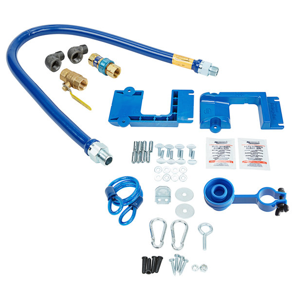 """Dormont 1675KIT48PS Deluxe SnapFast® 48"""" Gas Connector Kit with Safety-Set® - 3/4"""" Diameter Main Image 1"""