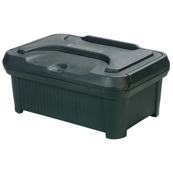 """Carlisle XT160008 Cateraide Slide N Seal 20"""" x 12"""" x 6"""" Forest Green Insulated Food Pan Carrier and Sliding Lid Set"""