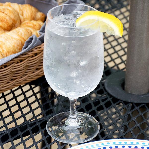 Carlisle 564807 Alibi 15 oz. Plastic Water Glass - 24/Case
