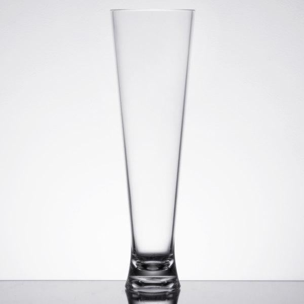 16 oz. Plastic Pilsner Glass - 24/Case