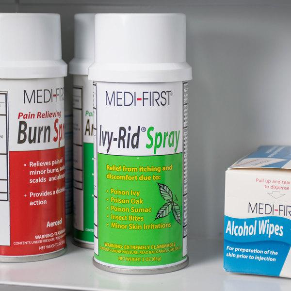 Medique 48717 Medi-First Ivy-Rid 3 oz. Poison Ivy Aerosol Spray