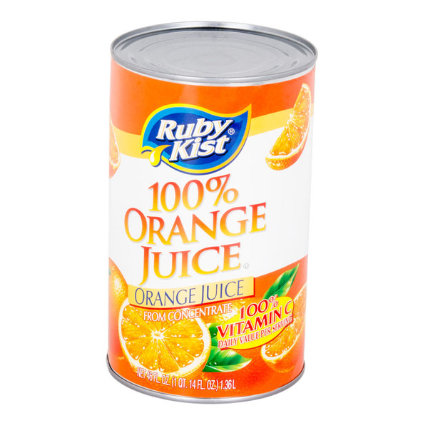 Canned Orange Juice 46 oz. Can