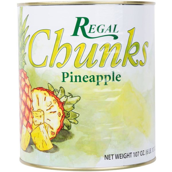#10 Can Pineapple Chunks in Natural Juice  - 6/Case