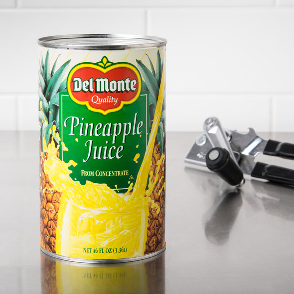 Del Monte 46 oz. Canned Pineapple Juice Main Image 4