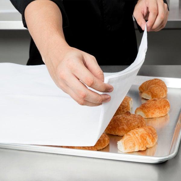 """Chef Revival 704FST36 36"""" x 36"""" White 100% Cotton Flour Sack Towel - 12/Pack"""