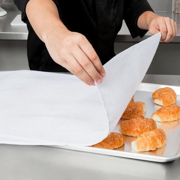 """Chef Revival 704FSTW 22"""" x 37"""" White 100% Cotton Flour Sack Towel - 12/Pack"""