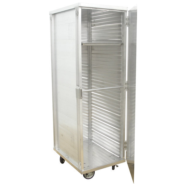 Advance Tabco EPC-40 40 Enclosed End Load Pan Cabinet - Assembled Main Image 1