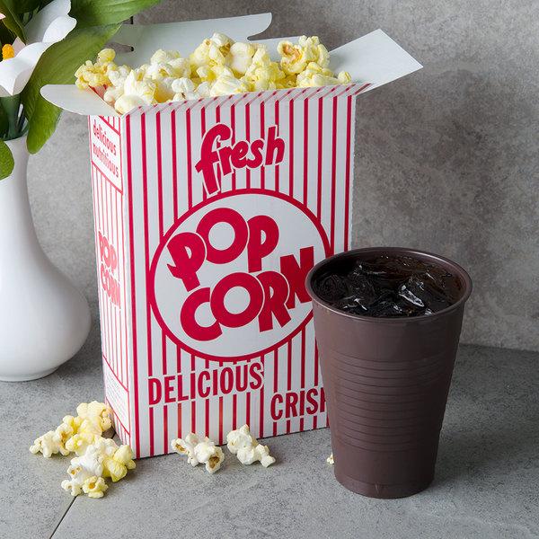 Great Western 11063 1.25 oz. Popcorn Box - 500/Case