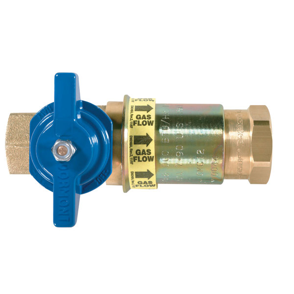 "Dormont CF-75 3/4"" Safety Quik Quick Disconnect Fitting for Gas Hoses"