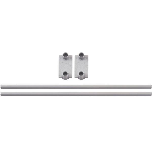 "Cambro CPR18E151 End Shelf Rail for 18"" Wide Cambro Camshelving® Premium Modular Shelving Units Main Image 1"