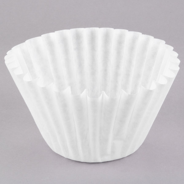 """Grindmaster 514 (F514U) 14"""" x 5"""" Coffee Filter for Satellite Coffee Brewers and Iced Tea Brewers - 500/Case Main Image 1"""