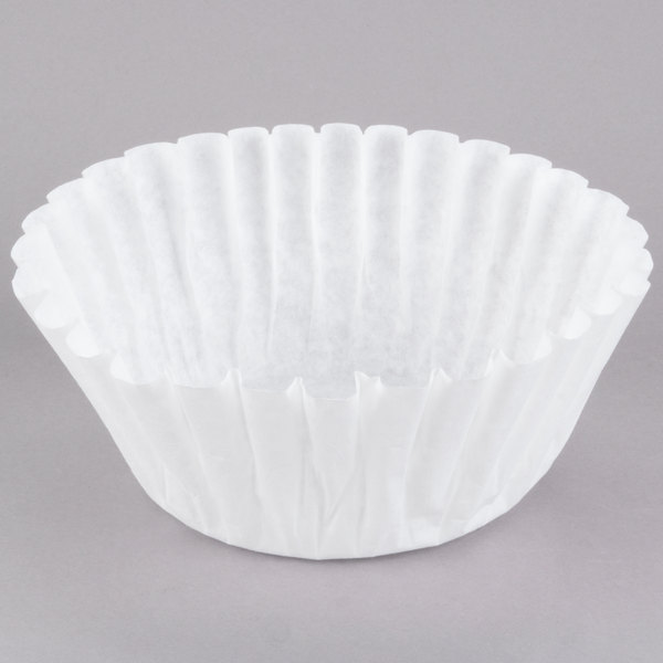 """Grindmaster ABB2.0WP 14"""" x 6"""" Coffee Filter for ABB20SS Gourmet Shuttle Coffee Brewer Basket - 500/Case Main Image 1"""