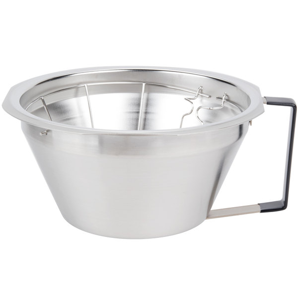 Grindmaster ABB1.5SS Stainless Steel Brewing Funnel for Shuttle Coffee Brewers