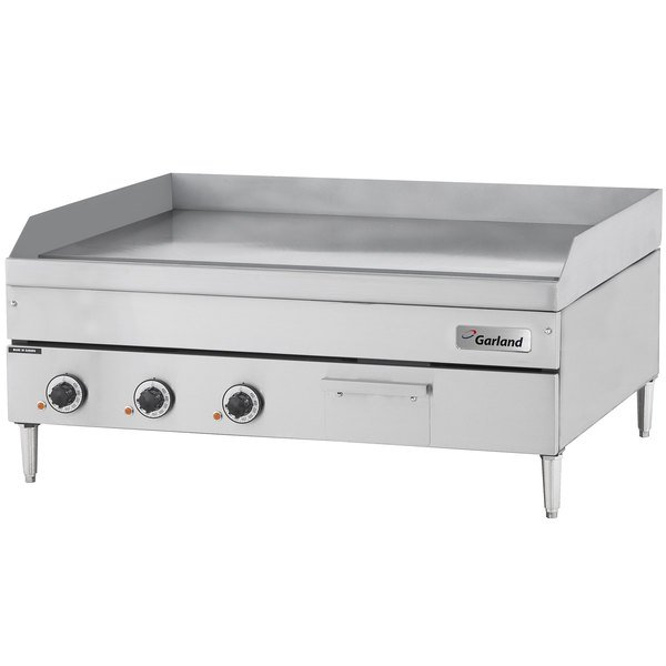 "Garland E24-72G 72"" Heavy-Duty Electric Countertop Griddle - 208V, 3 Phase, 24 kW Main Image 1"