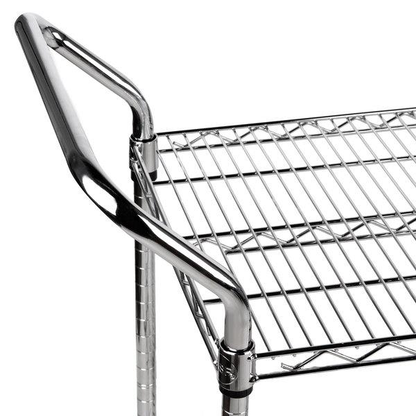 Regency 24 X 42 Two Shelf Chrome Heavy Duty Utility Cart