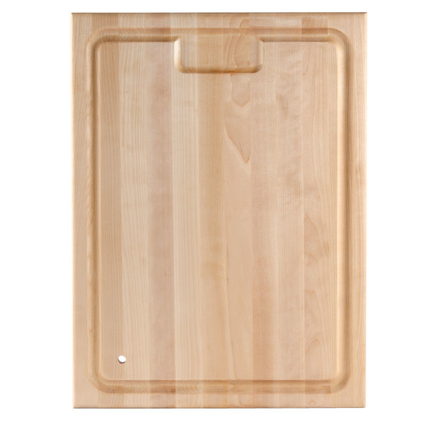 """Nemco 66660 Replacement Wooden Carving Board - 24"""" x 18 1/4"""" x 1 1/2"""""""