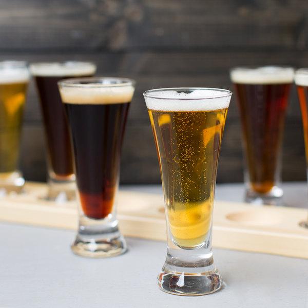 Libbey 1241HT 4.75 oz. Flare Beer Sampler Glass - 6/Pack