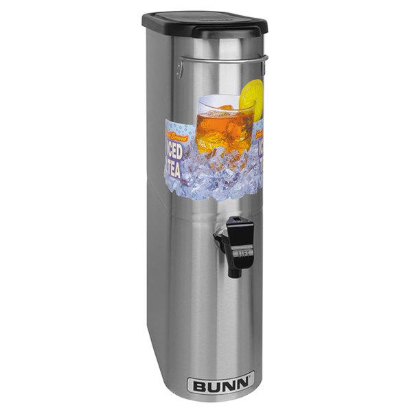 Bunn 39600.0031 TDO-N-3.5 3.5 Gallon Narrow Iced Tea Dispenser with Lift Handle