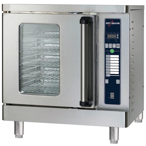 Alto-Shaam ASC-2E/E Platinum Series Half Size Electric Convection Oven with Electronic Controls - 240V, 5000W