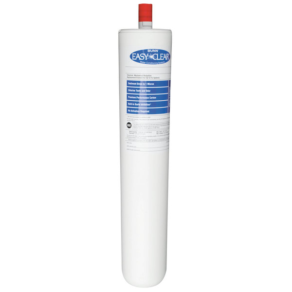 """Bunn 30332.1002 EQ-T-2 Easy Clear 14"""" Replacement Cartridge for EQ-12-TL Water Filtration Systems - 1.67 GPM"""