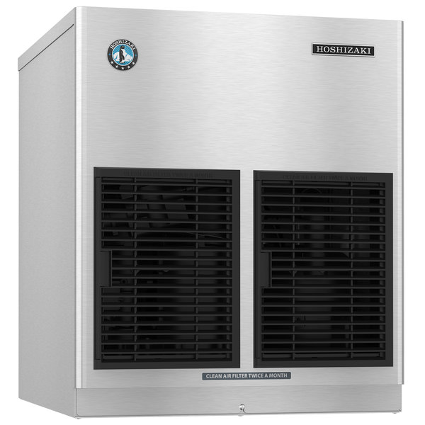 "Hoshizaki FD-650MAH-C Slim Line Series 22"" Air Cooled Cubelet Ice Machine - 650 lb."