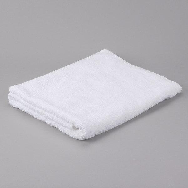 "Hotel Bath Sheet - Oxford Gold 35"" x 66"" 100% Ring Spun Cotton Loops 19 lb."