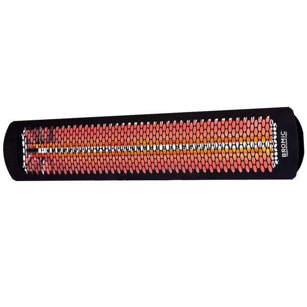 Bromic Heating BH0420033 Black Tungsten Smart-Heat Electric Outdoor Patio Heater - 220/240V, 6000W
