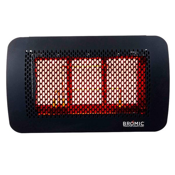 Bromic Heating BH0210002 Tungsten Smart-Heat 300 Series Propane Outdoor Patio Heater - 26,000 BTU