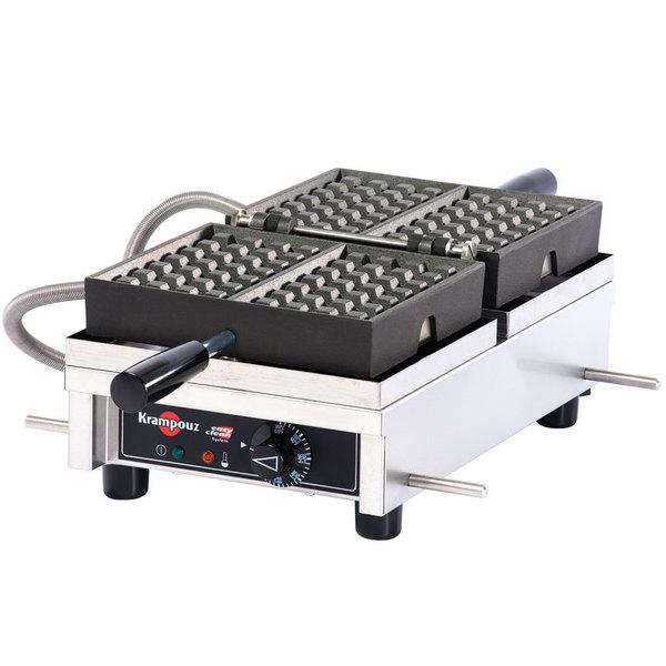 Krampouz WECDHAAT Liege Style Belgian Waffle Maker - 4 x 7, 208/240V