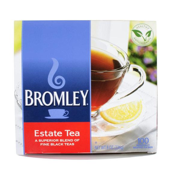Bromley Estate Regular Hot Tea Bags 100 / Box
