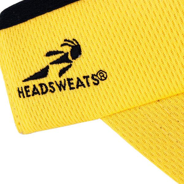 b700b5e34c6bb Headsweats Yellow Customizable CoolMax Chef Visor
