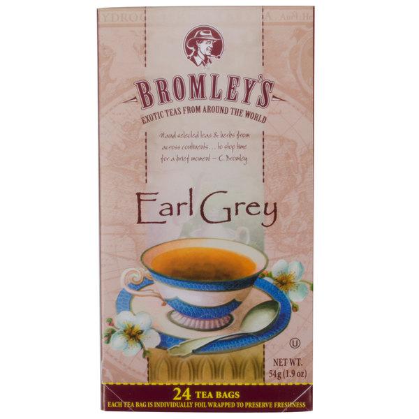 Bromley Exotic Earl Grey Tea - 24/Box