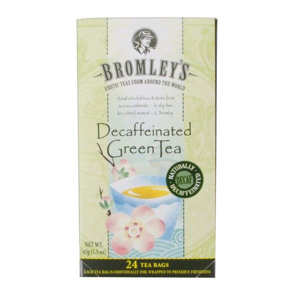Bromley Exotic Green Decaffeinated Tea - 24/Box