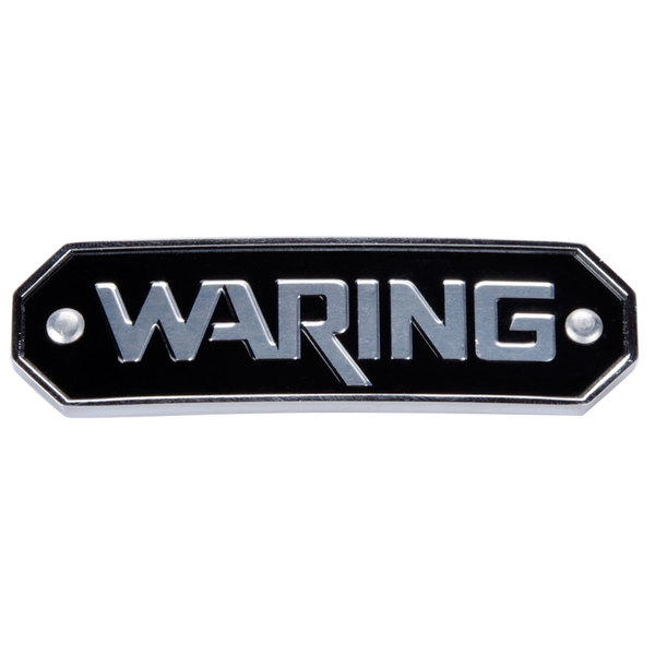 Waring 030689 Name Plate for Drink Mixers