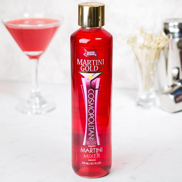 Master of Mixes Martini Gold 375 mL Cosmopolitan Martini Mix