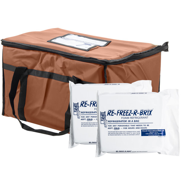 Bag And Foam Freezer Pack Kit Makes An Excellent Addition To Your Next Tailgate Or Outdoor Gathering Its Top Load Design Carrying Full Food Pans