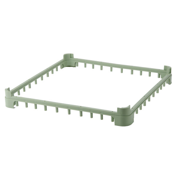 Vollrath 5230410 Light Green Full-Size Open Extender for Vollrath Signature Glass Racks