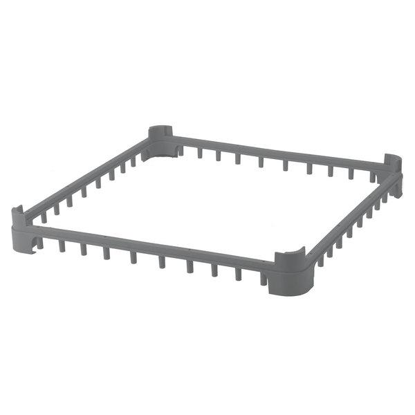 Vollrath 5230460 Gray Full-Size Open Extender for Vollrath Signature Glass Racks