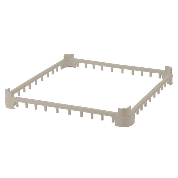 Vollrath 5230420 Cocoa Full-Size Open Extender for Vollrath Signature Glass Racks
