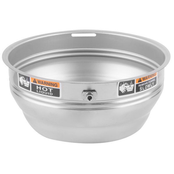 """Bunn 28553.0000 Funnel with Decals for Coffee Brewers - 7 1/8"""""""