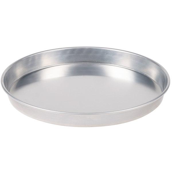 "American Metalcraft HA90161.5 16"" x 1 1/2"" Heavy Weight Aluminum Tapered / Nesting Pizza Pan"