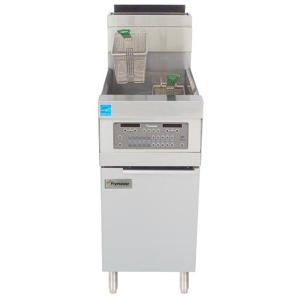 Frymaster HD50G Liquid Propane 50 lb. High Efficiency Decathlon Floor Fryer with SMART4U 3000 Controls