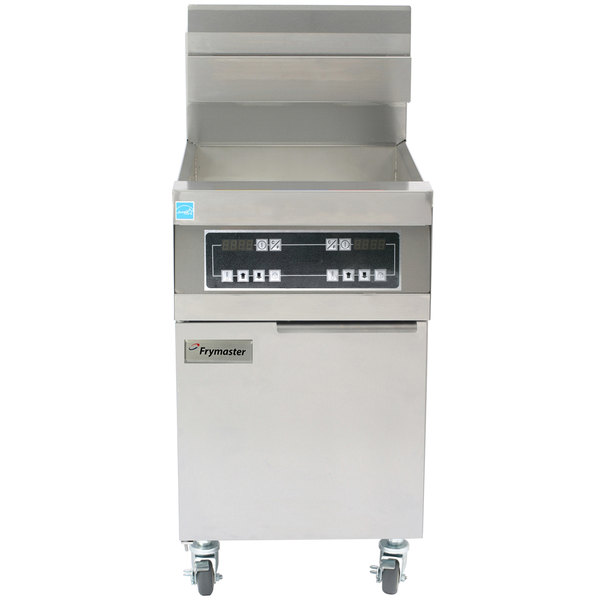 Frymaster 11814D Liquid Propane 63 lb. High Production Floor Fryer with Digital Controls - 119,000 BTU Main Image 1