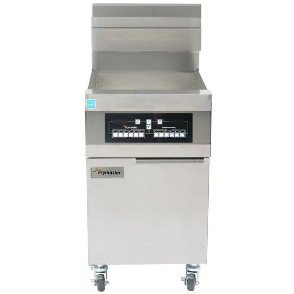 Frymaster 11814 Liquid Propane 63 lb. High Production Floor Fryer with CM3.5 Controls - 119,000 BTU