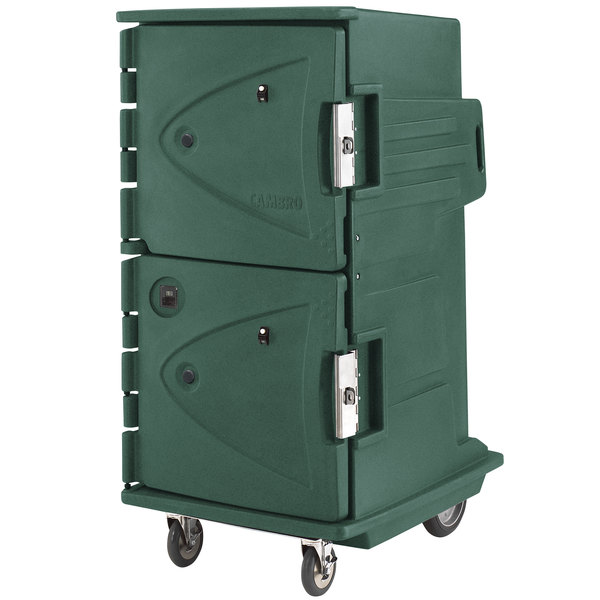 Cambro CMBHC1826TBF192 Camtherm® Granite Green Tall Profile Electric Hot / Cold Food Holding Cabinet in Fahrenheit - 110V Main Image 1