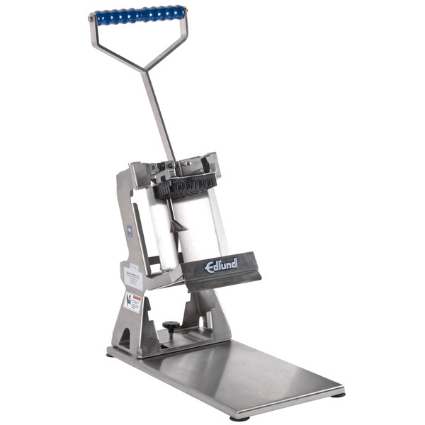 """Edlund FDW-012 Titan Max-Cut Manual 1/2"""" Dicer with Suction Cup Base"""